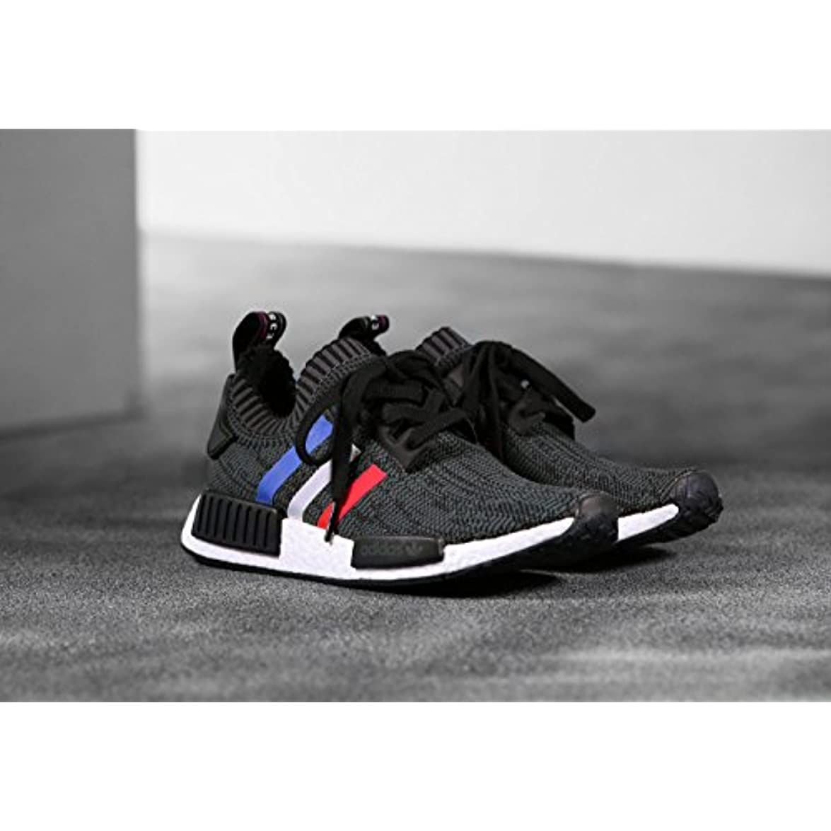 Adidas Originals Nmd R1 Pk Core Black-core Red-ftwr White 6