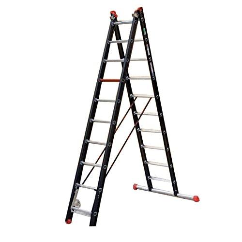 Altrex 0000400 Escalera de Aluminio para uso Industrial, Mounter, Número de Peldaños: 2 x 8: Amazon.es: Industria, empresas y ciencia