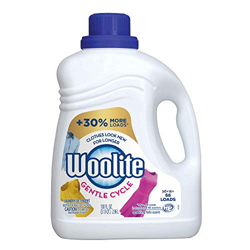 Woolite Gentle Cycle Liquid Laundry Detergent, 66 Loads, Regular & HE Washers, Sparkling Falls Scent