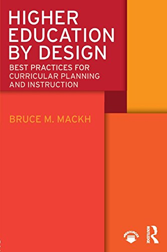 Higher Education by Design