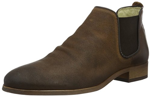 Shoe 130 Brown Who Uomo Marrone rack Chelsea Stivali aac7Zqr