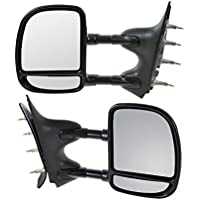 Hex Autoparts® Manual Telescoping Towing Side View Mirror...