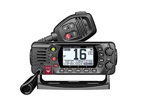 STANDARD HORIZON GX1400GB Black 25W VHF/GPS Eclipse Series by STANDARD HORIZON