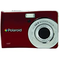 Polaroid CIM-1237R 12 MP Digital Camera with 3x Optical Zoom, Red At A Glance Review Image