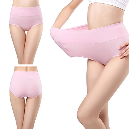 wirarpa Women/'s High Waisted Cotton Underwear Ladies Suitable for pregnant women