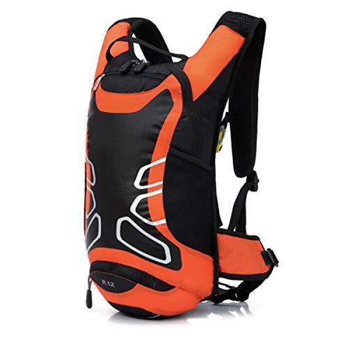 VORCOOL 12L ユニセックス メンズ レディース 超軽量 防水 アウトドア サイクリング ライディング ハイキング ハイドレーション ウォーターバッグ バックパック リュックサック ブラダーバッグ (オレンジ)   B07H1FGHWN