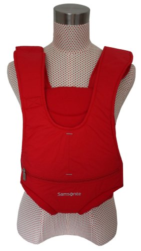 Samsonite Rival Front Baby Carrier, colour Red