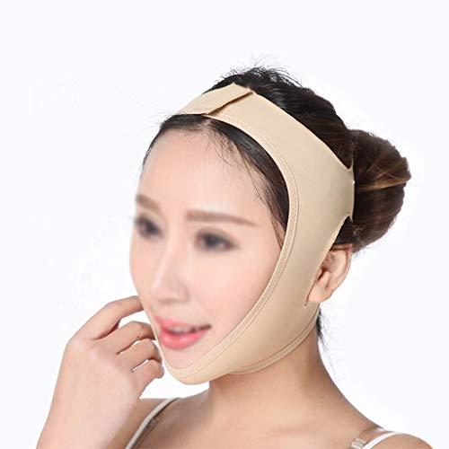 生産性入場料後方フェイシャルチークリフティングマスク、ダブルチンとフェイスを効果的に改善、フェイスリフト包帯、ダブルチンを減らす(サイズ:L),S