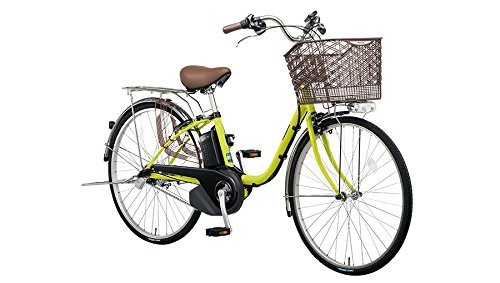 Panasonic(パナソニック) 2018年モデル ビビSX 24インチ BE-ELSX43 電動アシスト自転車 専用充電器付 B07DNC6WLX G:ピスタチオ G:ピスタチオ