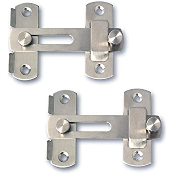Amazoncom Alise Stainless Steel Gate Latch Door Holder Flip Latch