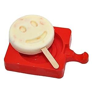 Reusable DIY Frozen Ice Cream Pop Molds Ice Lolly Makers-015
