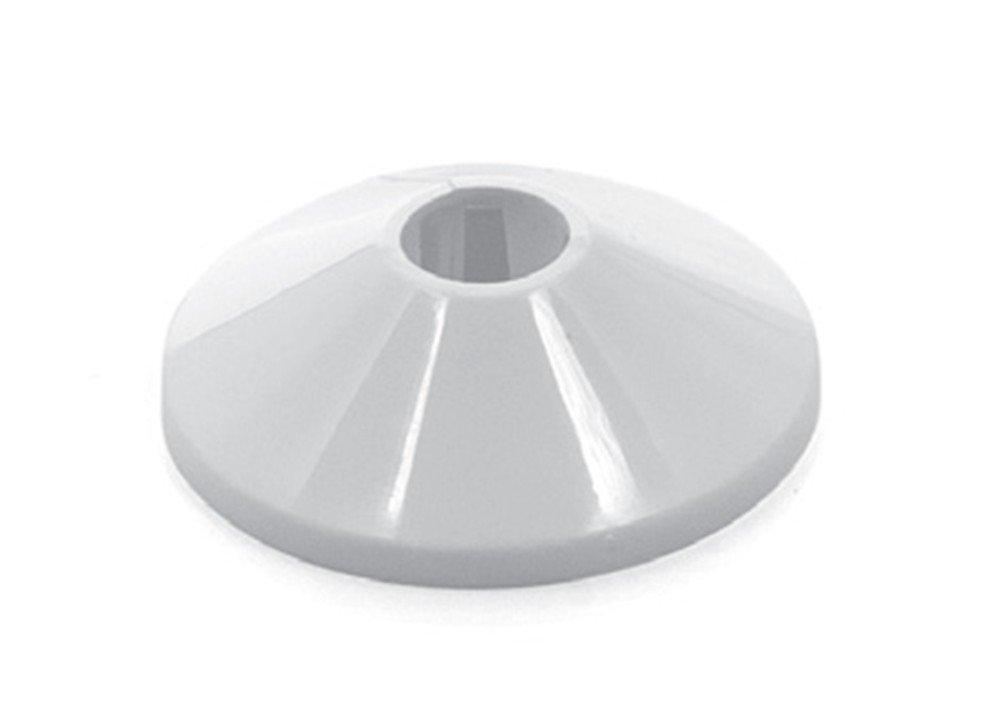 10 pieza calefactora rosetas Manguitos heizr ohrman tubos de heizroh rrosetten einze lrosetten Color Blanco 12 mm Capricorn