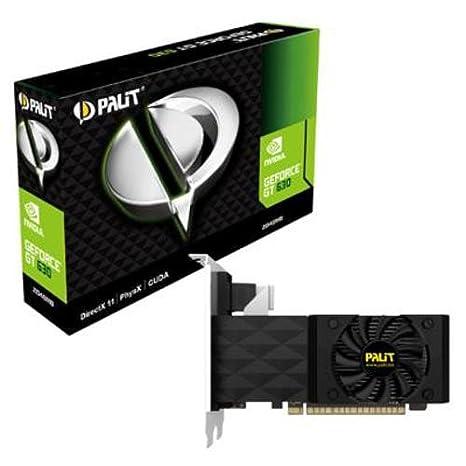 Palit GeForce GT 620 - Tarjeta gráfica de 2 GB (GeForce GT 620, DDR3, 2048 x 1536, 780 MHz, HDMI)