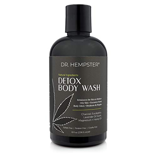 Charcoal-Detox-Body-Wash-with-Hemp-Oil-All-Natural-Bath-and-Shower-Gel-For-Oily-Skin-Treats-and-Prevents-Acne-Breakouts-and-Pimples-Eucalyptus-Coconut-Light-Lavender-Scent