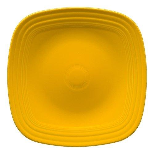 - Homer Laughlin 919-342 Fiesta Square Dinner Plate, Daffodil