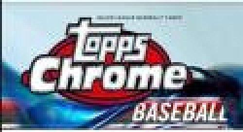 2018 Topps Chrome Baseball Blaster 16-Box Case (16 Boxes/8 Packs/4 Cards) -