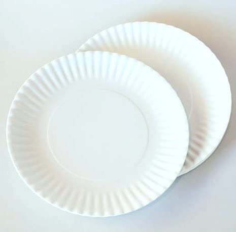 What Is It Larger Size 11 Inch Reusable White Dinner Plate Melamine Set Of 4 Dinner Plates