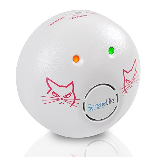 SereneLife Electronic Plug-in Pest Repeller - High-Frequency Ultrasonic Sound Humane Home Indoor Mice Rat and Rodent Repellent Control Works w/Fleas, Rats, Bug, Cockroach PSLUMR5