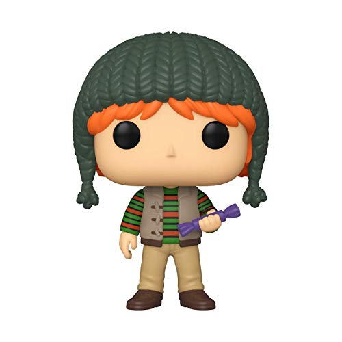 Funko- Pop Harry Potter Holiday-Ron Weasley S11 Figura Coleccionable, Multicolor (51154)