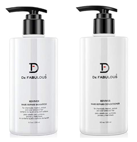 De Fabulous Reviver Shampoo & Conditioner 8.5oz NEW PACKAGING