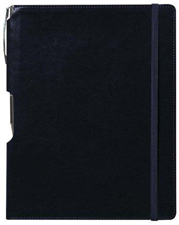 Rhythm Journal with Free Pen: Navy Blue, Large 10 pcs sku# 1796357MA
