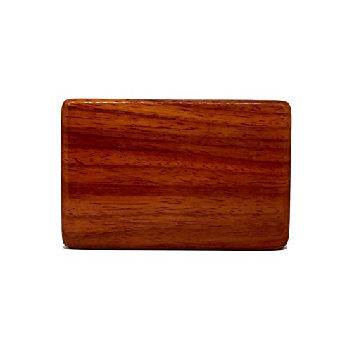 Business Card Holder – Rosewood Business Card Box by Cigar Cutters by - Rosewood Cutter Cigar