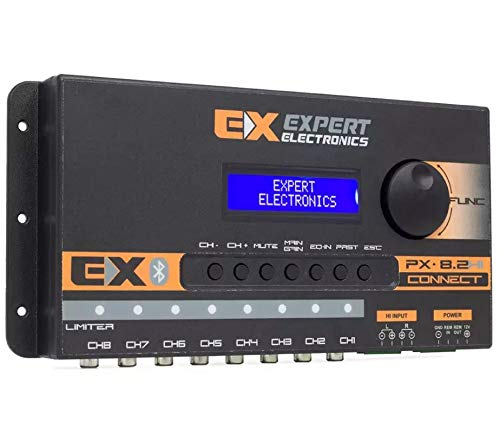 Processador de Audio Banda Expert Electronics Px8.2 Hi Connect Bluetooth - 8 Vias e Equalizador
