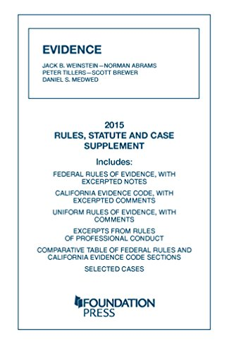 Evidence:Rules,Statute+Case Supp. 2015