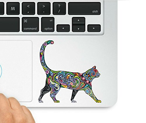 Multi-colored Abstract Diversity Cat Trackpad Decal Laptop Macbook Trackpad Keypad Sticker Decal & Sticker Pros Decal Laptop Macbook Trackpad Keypad Sticker