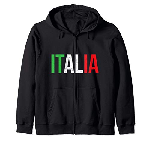 Italia Italy Italian Pride Heritage National Gift Zip Hoodie