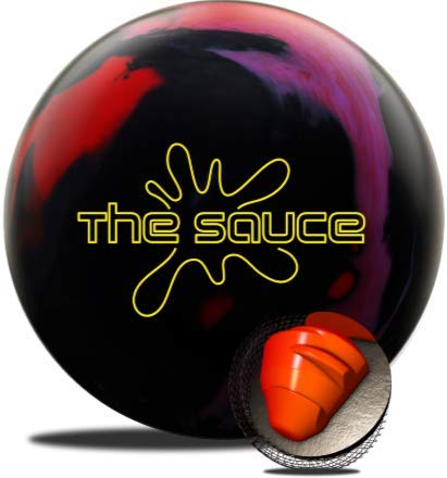 Hammer The Sauce Bowling Ball- Red/Black/Magenta 12lbs
