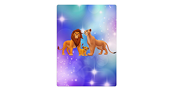 Kid s rey León Simba, Nala y grandes de microfibra Kopa ...