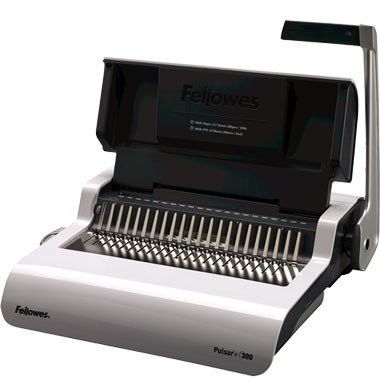 FEL5006801 - Fellowes Pulsar+ 300 Manual Comb Binding Machine