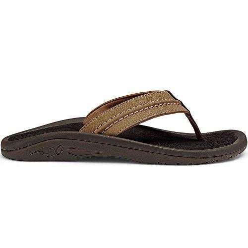 OluKai Hokua Sandal - Men's Tan/Tan - Stores Tan San