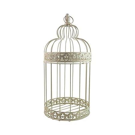 Jaula grande para pájaros, ideal para decoración, bodas, 29 cm ...