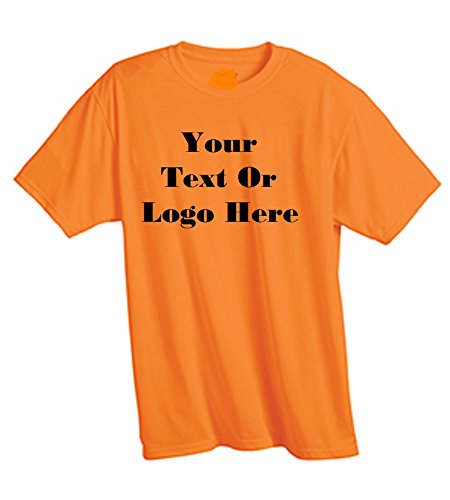 Add Your Own Custom Text or Logo on Your Personalized T-Shirt
