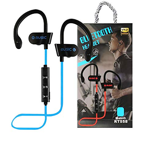 Occiam Wireless Bluetooth Headphones Sports Earphones Earbuds Ear Hook Waterproof Bass Sound with Microphone 120Hours…