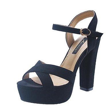 Femme Jaune Amande Lvyuan Chaussures À Synthétique Talons Yellow ggx Noir De Pu Printemps Décontracté Confort Microfibre Plat wOqOC6xH5