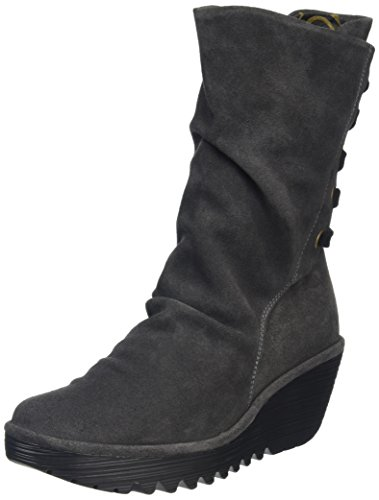 Boots Long Women's Fly Black Yada Blue Diesel London ZFqng