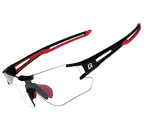 RockBros Cycling Sunglasses Photochromic Bike Glasses for Men Women Sports Goggles UV Protection from ROCK BROS