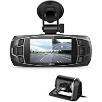 Z4 Plus Dual Camera Dash Cam Dashboard Camera Support Rear Camera Full HD 720P 2.7LCD 170 Degree Video Car DVR Recorder