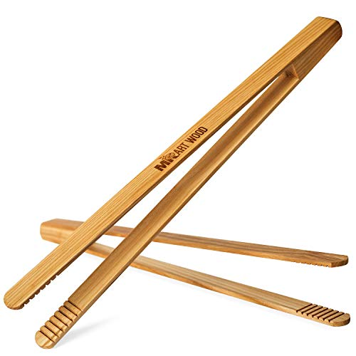 Mr Art Wood Wooden Tongs Length product image