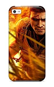Anti-scratch And Shatterproof Far Cry Phone Case For Iphone 5c/ High Quality Tpu Case by Maris's Diary
