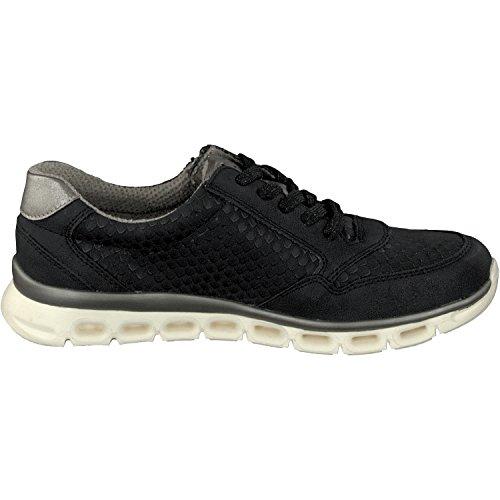 Mocassini Relife 03 3 con Colori Donna Black 18708 in 8067 Sneaker Scarpe Lacci pFpxqRBOw