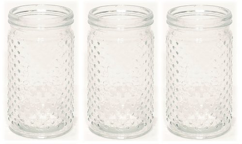 Hobnail Clear Glass - 7.25