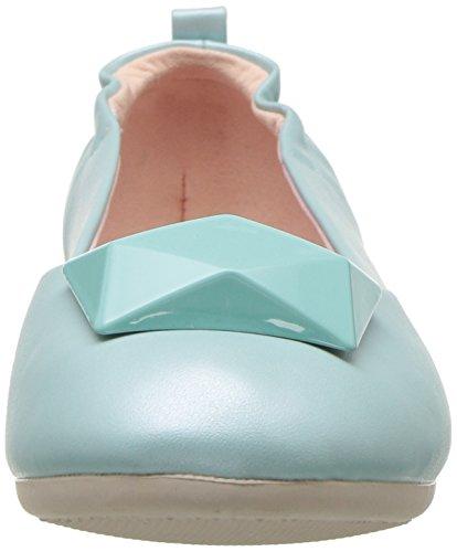 Pin Up Couture Da Donna-08 Balletto Piatto In Ecopelle Acqua