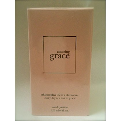 Philosophy Amazing Grace Eau De Parfum 4 Fl Oz * ALWAYS NEW/BOXED!*