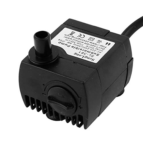 240v Submersible Water - Aexit AC 220V-240V Electrical equipment EU Plug 4W 300L/H Electric Submersible Water Pump for Aquarium Fountain Pond