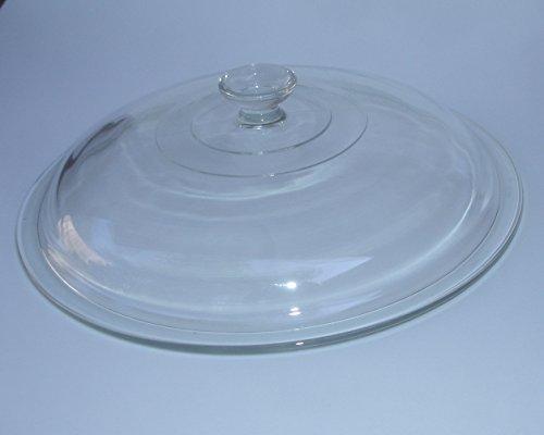 Rival Crock Pot Slow Cooker Vintage Model 3355 Original Glass Lid 10 1/16