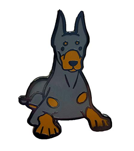 Dark Spark Decals Doberman Pinscher Dog 1.75